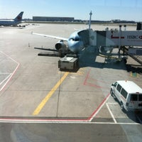 Photo taken at Gate D24 by Nathalie L. on 4/2/2012