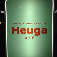 Photo taken at Heuga BAR by Yuya T. on 9/1/2012