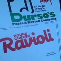 Photo taken at Durso's Pasta & Ravioli Company by Bryan K. on 2/25/2012