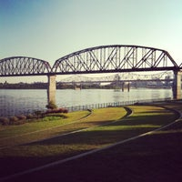 Photo taken at Jeffersonville Riverstage by Kristi S. on 8/23/2012