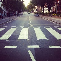 Photo taken at Abbey Road Crossing by Claudio D. on 8/2/2012