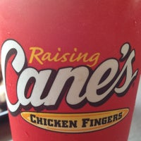 Photo taken at Raising Cane's Chicken Fingers by Fatima G. on 8/23/2012