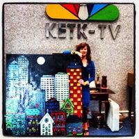 Photo taken at KETK NBC 56 by Dana C. on 7/9/2012