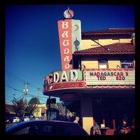Снимок сделан в Bagdad Theater & Pub пользователем Jay C. 9/3/2012