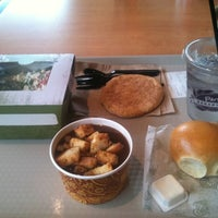 Photo taken at Paradise Bakery & Cafe by D C. on 9/2/2012