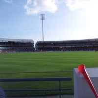 Photo taken at Kensington Oval by Gizelle F. on 3/30/2012