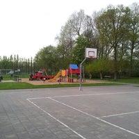 Photo taken at Speelplein Valkaart by Jelle S. on 5/1/2012
