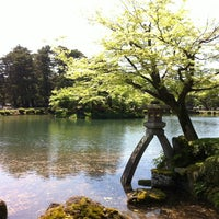 Photo taken at Kenrokuen Garden by Manabu T. on 5/5/2012