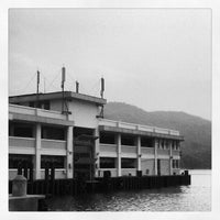 Photo taken at Mui Wo Ferry Pier 梅窩渡輪碼頭 by Jansen L. on 5/6/2012
