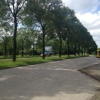 Photo taken at Bushalte De Geer by Mitch K. on 7/18/2012