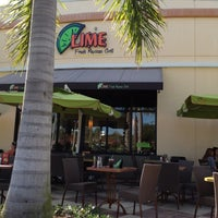 Photo taken at Lime Fresh Grill by Farhana C. on 3/1/2012