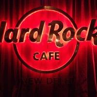 Photo taken at Hard Rock Café by Manish S. on 7/11/2012