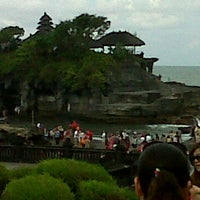 Photo taken at Tanah Lot Temple by Guido C. on 7/2/2012