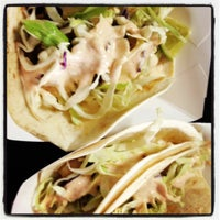 """Photo taken at A1A Burrito Works """" The Taco Shop"""" by Kristen C. on 7/4/2012"""