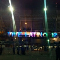 Photo taken at Vive Latino 2012 by Grisel on 3/26/2012