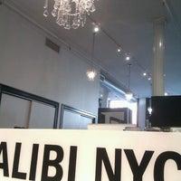 Photo taken at Alibi NYC Salon by Melissa on 8/27/2012