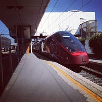 Photo taken at Roma Ostiense Railway Station (IRR) by Valentina C. on 8/9/2012