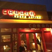 Photo taken at Cabana Restaurant & Bar by Princess on 9/4/2012