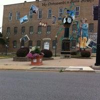Photo taken at Downtown DeKalb by Wouldpkr on 7/10/2012