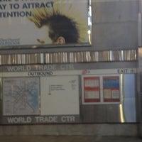 Photo taken at MBTA World Trade Center Station by Meredith P. on 8/20/2012