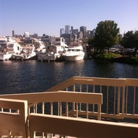 Photo taken at McCormick and Schmick's Harborside by Cindy M. on 8/15/2012