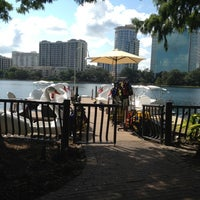 Photo taken at Lake Eola Park by Jeff C. on 9/1/2012