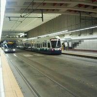 Photo taken at University Street LINK Station by Kennedy S. on 3/26/2012