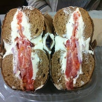 Photo taken at Murray's Bagels by YOU on 5/26/2012