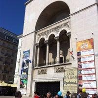 Photo taken at Teatrul Național Timișoara by Sara N. on 3/18/2012