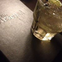 Photo taken at The Arsenal Bar by Alia R. on 6/9/2012