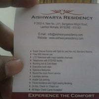 Photo taken at Aishwarya Residence by Subhadeep B. on 3/18/2012