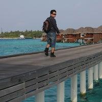 Photo taken at Huvafenfushi Staff Ferry by Ganjar S. on 6/11/2012