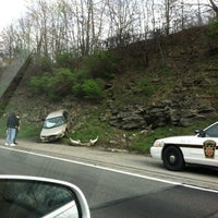 Photo taken at PA Turnpike - New Stanton Exit by Dorey on 4/1/2012