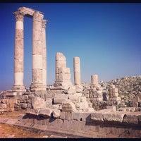Photo taken at Amman Citadel by Loris G. on 7/17/2012
