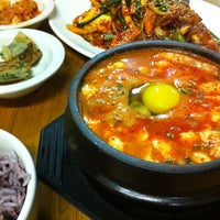 Photo taken at Myung-dong Soft Tofu House Korean Restaurant by Ruben P. on 6/23/2012