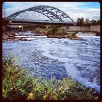 Photo taken at Confluence Park by Kevin S. on 7/7/2012