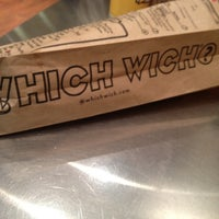 Photo taken at Which Wich? Superior Sandwiches by Jessica L. on 2/12/2012