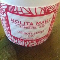 Photo taken at Nolita Mart & Espresso Bar by Peter C. on 2/18/2012