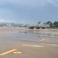 Photo taken at Osan Air Base by Anandaraj S. on 8/22/2012