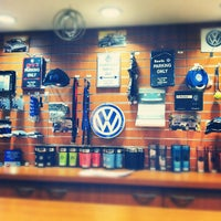 Photo taken at Luther Westside Volkswagen by Brian H. on 2/17/2012