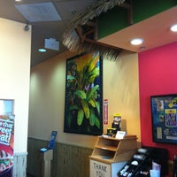 Photo taken at Tropical Smoothie Cafe by Renee B. on 6/8/2012