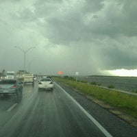 Photo taken at Courtney Campbell Causeway by Brian on 7/12/2012