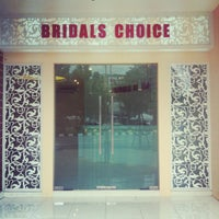 Photo taken at Bridals choice by TeeNoi on 8/13/2012