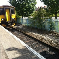 Photo taken at Exmouth Railway Station (EXM) by Elena on 6/18/2012
