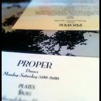 Photo taken at Proper by John P. on 3/17/2012