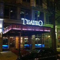 Photo taken at Teatro Goldoni by Shawn SK K. on 3/4/2012