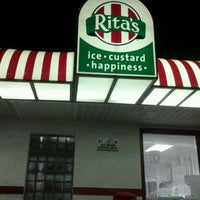 Photo taken at Rita's Water Ice by April P. on 3/15/2012