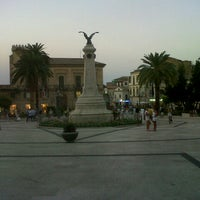 Photo taken at Piazza Rossetti by Francesca T. on 8/24/2012