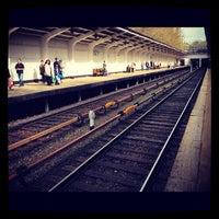 Photo taken at metro Fili by Andrey K. on 4/25/2012