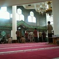 Photo taken at Masjid Al Amin Kemenkeu by haenry waskito j. on 6/15/2012